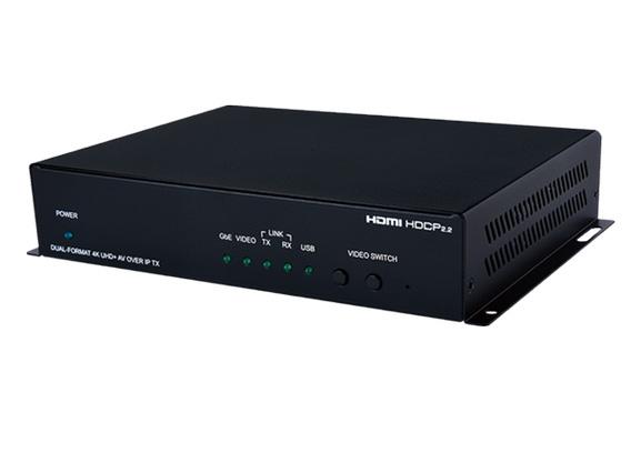 4k HDMI und DP über Glasfaser