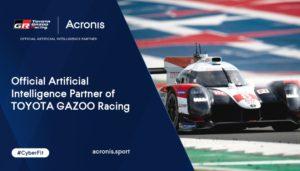 Acronis sponsor Toyota Gazoo Racing WEC Team